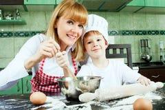 Petit boulanger Photo stock