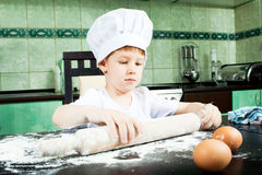 Petit boulanger Images libres de droits