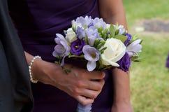 Petit bouquet de demoiselle d'honneur Images stock