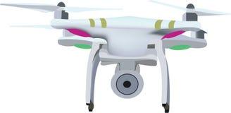 Petit bourdon de machine de vol Photos libres de droits