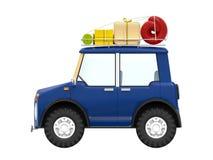 Petit côté moderne de SUV illustration stock