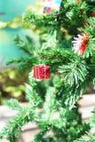Petit cadre de cadeau rouge Photo libre de droits
