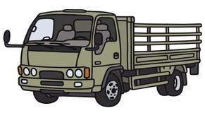 Petit camion vert illustration libre de droits