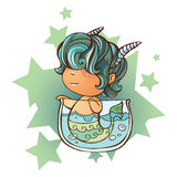 Petit Capricorne illustration stock