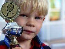 petit champion fier Photo libre de droits