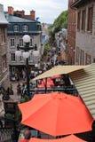 Petit-Champlain Quebec Stock Photos