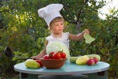 Petit chef Photo stock