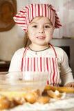 Petit chef dans la cuisine Photographie stock libre de droits