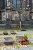 Petit cimetière Photo stock