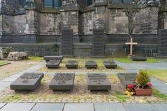 Petit cimetière Photographie stock