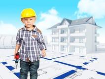Petit constructeur Photographie stock libre de droits