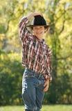 Petit cowboy Image stock
