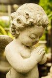 Petit cupidon heureux Photographie stock