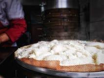 Petit déjeuner à Changhaï Photos stock