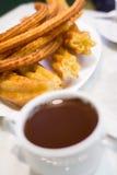 Petit déjeuner à Madrid Images stock