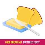 petit déjeuner 1205 éléments 15 illustration stock