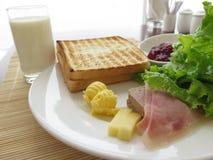 Petit déjeuner Photo libre de droits