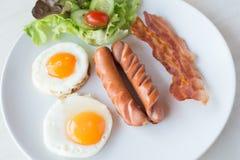 Petit déjeuner américain Photos stock