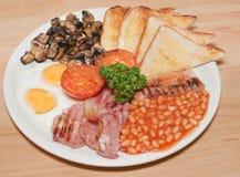 Petit déjeuner anglais Photo libre de droits