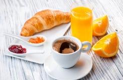 Petit déjeuner continental images stock