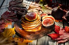 Petit déjeuner délicieux d'automne Images libres de droits