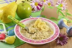 Petit déjeuner 2 d'enfants Photo stock