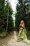 Petit déjeuner dans une forêt de matin Photo stock
