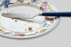 Petit déjeuner de finition pendant le matin à commencer le jour Photos libres de droits
