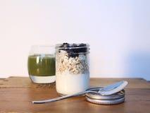 Petit déjeuner de granola Image libre de droits