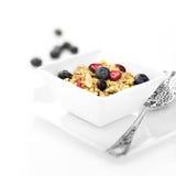 Petit déjeuner de Muesli photographie stock libre de droits