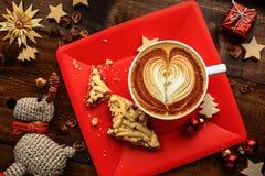 Petit déjeuner de Noël Photo libre de droits