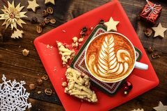 Petit déjeuner de Noël Photo stock