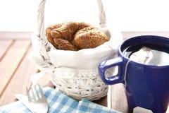 Petit déjeuner de thé Photographie stock libre de droits