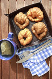 Petit déjeuner de thé Photo stock