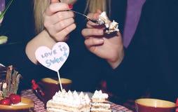 Petit déjeuner doux ensemble Image stock