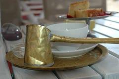 Petit déjeuner et café Images libres de droits