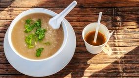 petit déjeuner et café pendant le matin au thailad de chaingmai Image stock