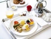 Petit déjeuner luxueux 01 image libre de droits