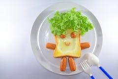 Petit déjeuner pour des enfants Photo libre de droits