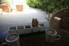 Petit déjeuner rêveur photo stock