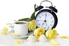 Petit déjeuner romantique Image stock