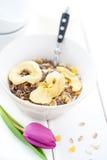 Petit déjeuner sain Photo libre de droits