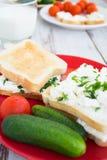Petit déjeuner sain Photos libres de droits