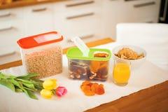 Petit déjeuner sain Image stock