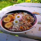 Petit déjeuner sain d'été photos libres de droits