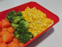 Petit déjeuner sain de nourriture Image stock