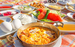Petit déjeuner turc Photo stock