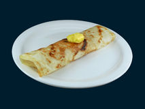 Petit déjeuner végétarien indien Photographie stock libre de droits