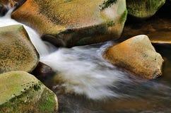 Petit détail de cascade Image libre de droits