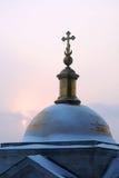 Petit dôme de cathédrale de St.Isaac Image stock